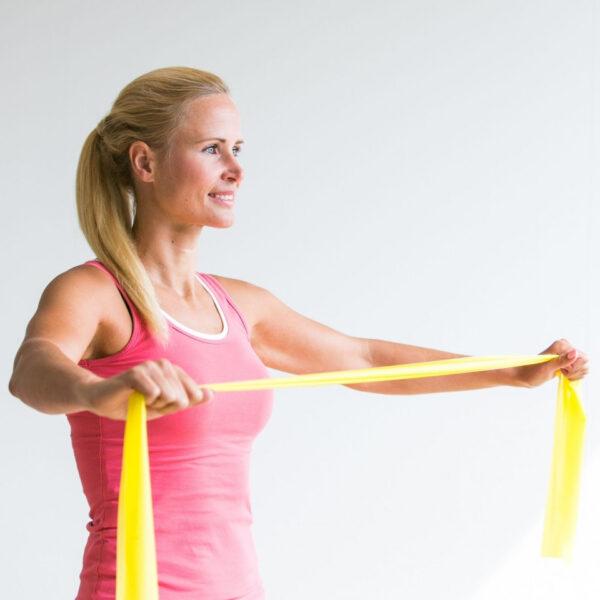 fitness body band licht